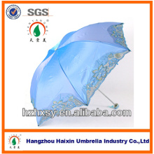 Fabricante China Ladies Chameleon Fabric Parasol Umbrella