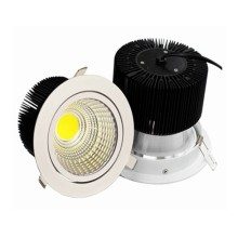 China High Power 30W Wn Light China LED Downlight, LED Downdimmable COB LED Ceiling Down Light