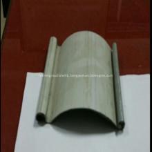 Customer used steel shutter door roll forming machine