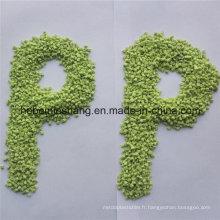 Granules de pp réutilisés par pp granules de pp