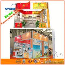 idéias da cabine da feira de comércio com o equipamento da exposição para a mostra de carro de shanghai