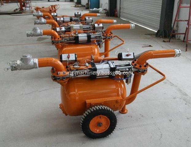 Dredging sand and mud pump pneumatic equipment (12)