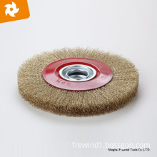 125mm wide face crimped wire wheel brush