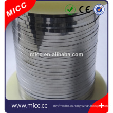 elemento de calefacción tipo plano resistencia alambre