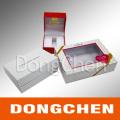 Boîte en papier cadeau bon marché de bonne qualité imprimée