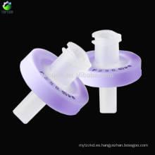 0.8um, 100pcs / bag PES Sistema de agua importado Filtro de jeringas
