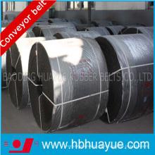Cinta transportadora de cable de acero resistente al calor de la planta de cemento