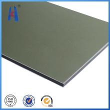 Material de placa de placa ao ar livre em painel de plástico composto de alumínio (ACP)