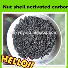 Carvão ativado de coco de coco 4-8mesh granulado para recuperação de ouro