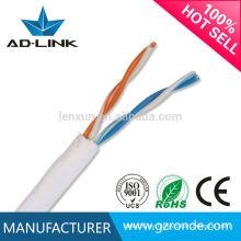 El mejor precio cat3 CCA Cobre el cable de interior y al aire libre del teléfono cable de la línea lan