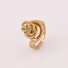 12023 venda quente estilo especial único senhoras jóias banhado a ouro liga de cobre anel de dedo