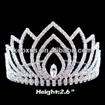 Crystal Crowns and Tiaras Jewelry