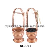 Royal Shisha Chine Wholesale Hookah Charbon De Bois Titulaire Shisha Charcoal Basket