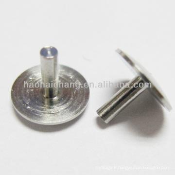 Rivet solide d'acier inoxydable d'attache automatique / rivet principal de champignon pour l'automobile / pièces de rechange automatiques