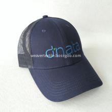 Navy Blue Embridery Cap Mesh Hat Cotton Trucker Hat