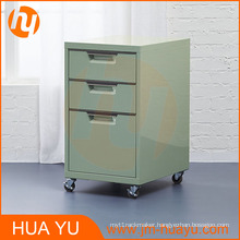 Garage / Kitchen / Bathroom 3-Drawer Steel Storage Cabinet