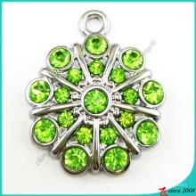 Зеленый Хоккей Кристалл Кулон ювелирные изделия (ПДВ)