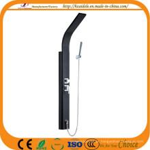 Coluna de chuveiro de aço inoxidável preto (yp-055)