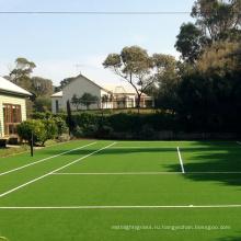 Очень идеальный теннисный корт искусственная трава от комплимент