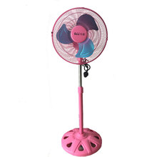 12 Inches Fan-Small Fan-Stand Fan-Plastic Fan-Rose