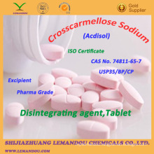 Crosscarmellose Sodium,CAS No.74811-65-7,Disintegrating Agent,Tablet