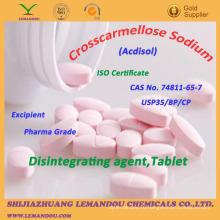 Натриевая кроскармеллоза, CAS №74811-65-7, дезинтегрирующий агент, таблетка