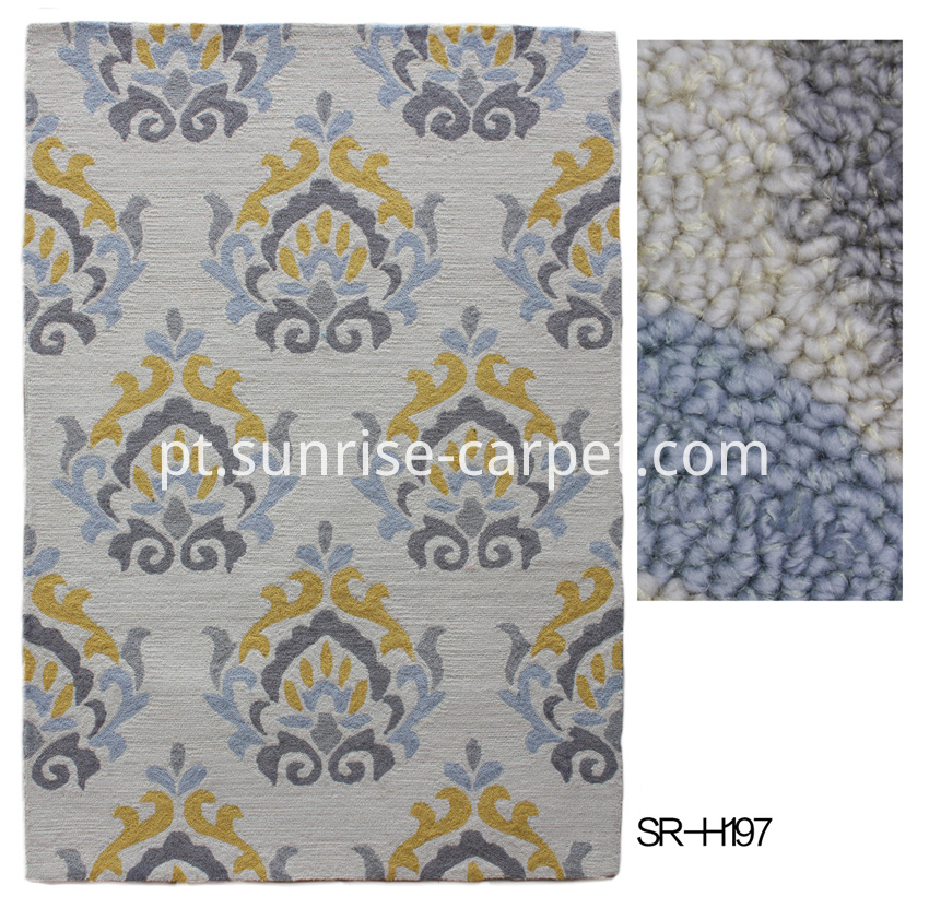 Handmade Carpet with deisgn