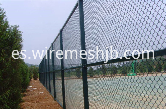 Green Color Sports Fence
