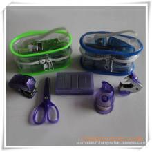 Set de papeterie de boîte de PVC pour le cadeau promotionnel (OI18015)
