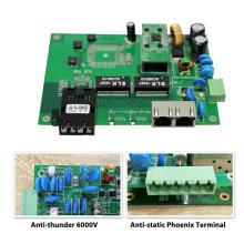 original chipset de importación 1000 M 3 puertos al aire libre interruptor de po bordo pcb para cámaras IP / inalámbrico AP y telecomunicaciones inteligentes