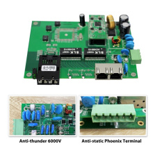 Original d'origine chipset 1000M 3 ports en plein air Poe commutateur pcb carte pour IP caméras / sans fil AP et intelligent télécommunication