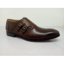 Oxfords para hombre zapatos de hebilla de moda (NX 547)
