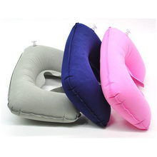 Almohada inflable Travel Air U, Almohada hinchable para el cuello con forma de U 42 G