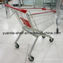 Fertig mit Chrome Einkaufswagen