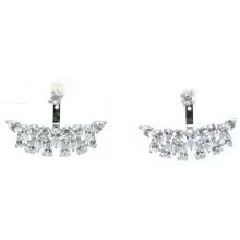 Boucles d'oreilles en argent sterling 925 en or de qualité et mode Lady Jewelry (E6479)