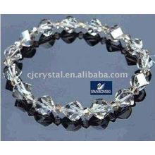 Bracelet shambala en cristal de mode, perles de cristal