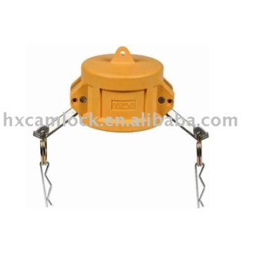 Nylon cam and groove coupling type DC