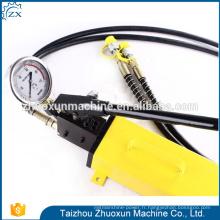 Pompe à main de calibrage hydraulique d'acier inoxydable de la pression 2018 de délivrance