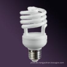Semi Spiral Energiesparlampen 15W RoHS / CE
