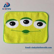 Toalla de mano de secado rápido para toallas de dibujos animados para niños