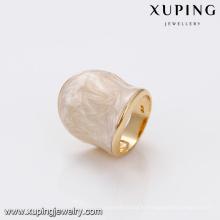 14452 gros royal style dames fines bijoux simplement daigne large anneau de haute qualité doigt anneau