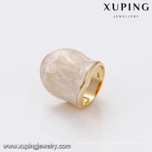 14452 Wholesale royal style fine ladies jewelry simply deign wide ring high quality finger ring