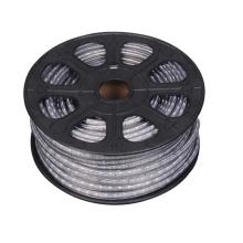 4.8W / M decorativa 5050 RGB LED flexible tira de luz 220V