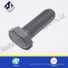 GR8.8 TS16949 Boulon hexagonal ISO9001