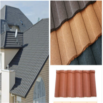 Low consumption ​Stone Coated Metal Roofing Product Line
