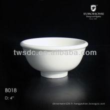Chaozhou porclain épais bols fournisseur