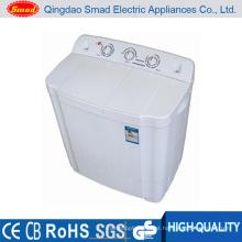 Máquina de lavar de casa de dois tubos de plástico