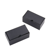 Hot Sale Organizer New Storage Jewelry Packaging Boxes Black Cardboard Gift Box  From China