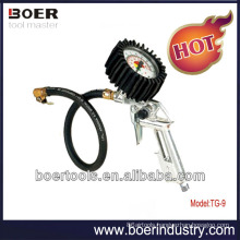 Porpular Air Tire Inflating Gun with horizontal air gauge