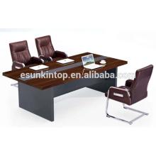 Moderne MDF + Melamin Finishing Konferenz Büro Tisch